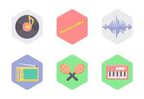 Music hexagon