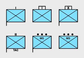 NATO Military Symbols - Friendly Dismounted Infantry Units