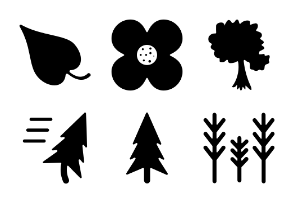 Nature Solid Icons Vol 1