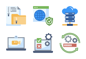Network Technology Flaticons
