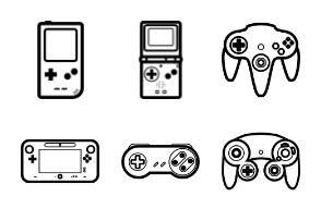 Nintendo Handheld & Console Game Controllers