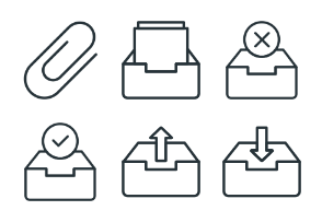 Office - Stroke Icons