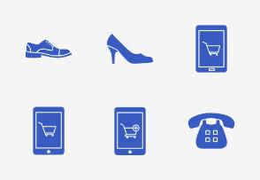 Online Shopping - Glyph