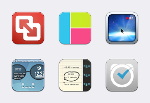 Pack3 - Baco Flurry Icons Style