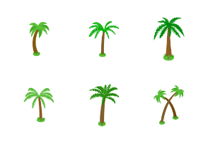 Palm tree - isometric