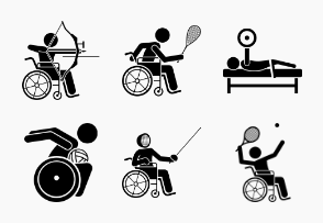 Paralympic Disabled Sport and Games for Handicapped