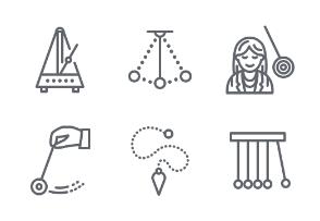 Pendulums: Physics, Hypnosis