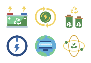 Power And Energy Flaticons