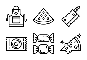 Prettycons - Food Vol.3 - Outline