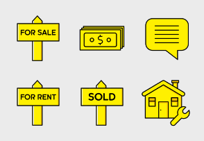 Real Estate — Yellow and Black