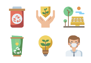 Recycling Energy Flaticons