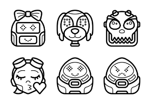Robot Avatars - Outline