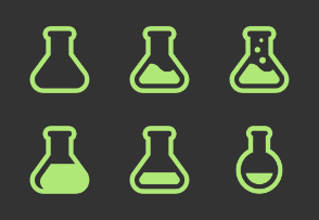 Science / Test / Flask Collection