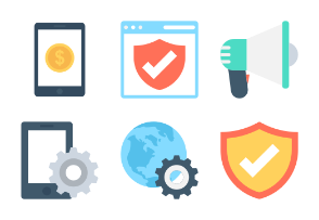 Seo and Marketing Icons 3