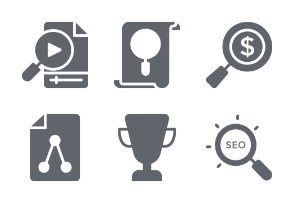 SEO & Marketing Glyphs vol 3