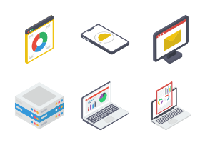 Set of Isometric 5