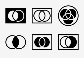 Set theory Icons
