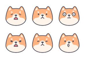 Shiba Inu Dog Emoji