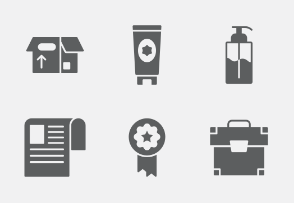 Shopping and E-commerce Glyphs vol 1