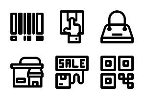 Shopping and Retail (Line)