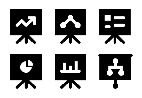 Smashicons Business MD - Solid - Vol 2
