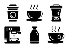 Smashicons - Coffee Shop Solid