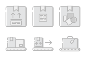 Smashicons Delivery - Greyscale