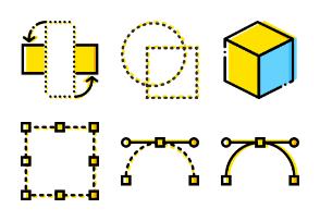 Smashicons Design - Yellow - Vol 2