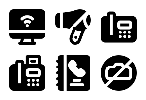 Smashicons Holtel Services MD - Solid