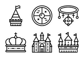 Smashicons Medieval - Outline