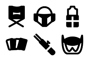 Smashicons Movies MD - Solid