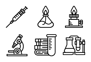 Smashicons Science - Outline - Vol 2