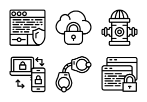 Smashicons Security 2 - Outline