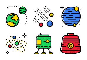 Smashicons Space 2 - Cartoony