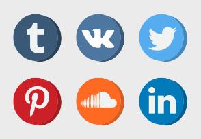 Social Media - Circle