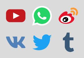 Social Media (Flat)