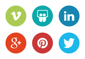 Social media icons – The Circle Set