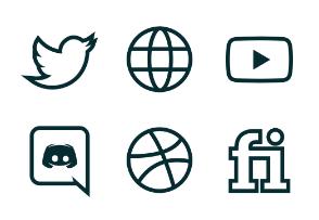 Outline icons - Iconfinder com