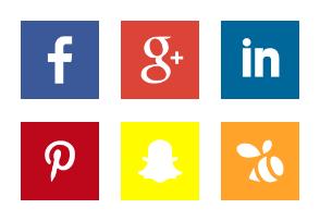 Social Media | Square Flat