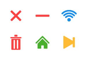 Social & Messaging UI - Color