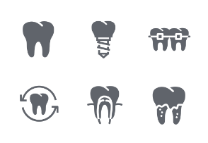solid style - Dental / Tooth / Dentist / Dentistry