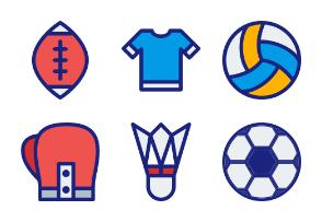 Sport (Filled Line)