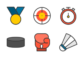 Sports equipment (filled)