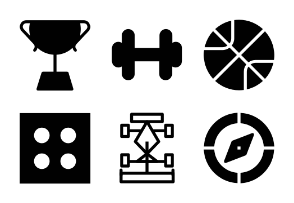 Sports Solid Icons 1