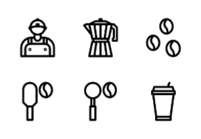 Startup Coffee Outline