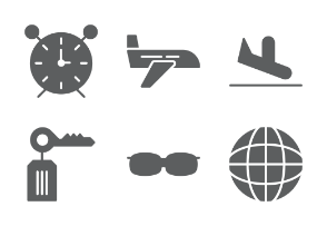 Summer and Travel Glyphs
