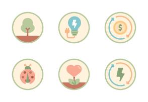 Sustainability Flat - Ecological balance