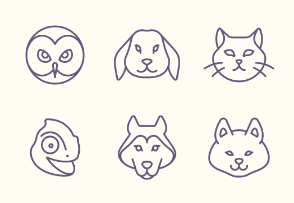 Tender Icons: Pets