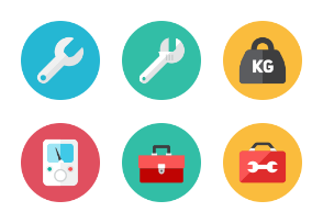 Tools Icons - Rounded