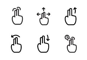 Touch Gesture Vol.2